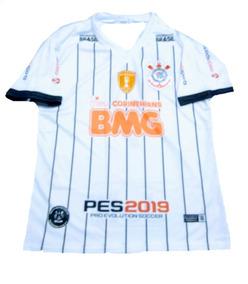 Camisa Camiseta Do Corinthians 2019 Futebol Adulto Masculi