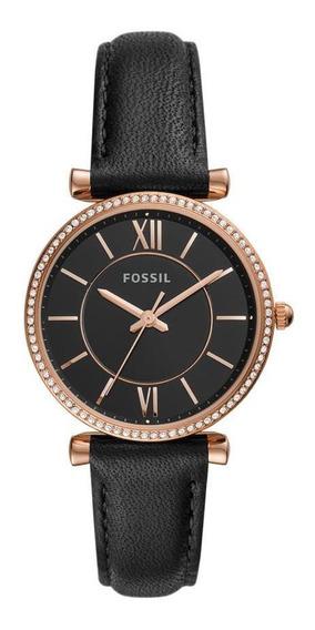 Relógio Fossil Carlie Feminino Rosé Es4507/0pn