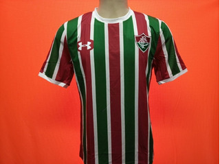 Camisa Fluminense 2017 Oficial Under Listrada Modelo Jogador