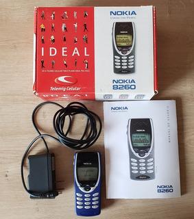 Celular Nokia 8260, Ótimo Para Colecionadores!!!