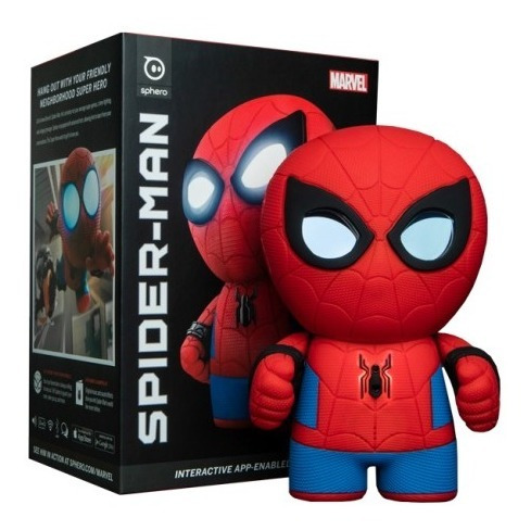 Sphero Robot Spider Man Marvel Personaje Control Ios/android