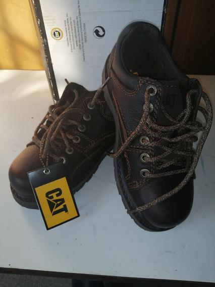 Zapatos Caterpillar Seguridad Para Mujer Talla 36