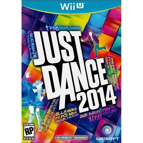 Wiiu -just Dance 2014 - Midia Fisica - Novo