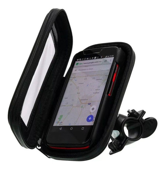 Suporte Capa Celular Universal Gps Moto Bike