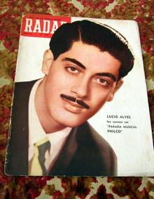 Revista Radar Lucio Alves Autran Elizete Jorge Veiga Barrios
