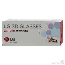 Oculos 3d Lg Ag-f210 Glasses - Kit Com 2 Óculos Original
