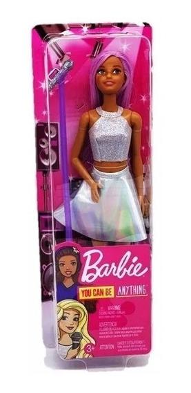 Nova Barbie Profissões Estrela Pop Mattel
