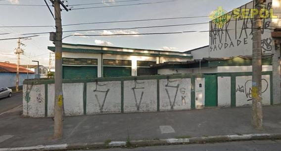 Galpão Comercial À Venda, Vila Formosa, São Paulo. - Ga0006