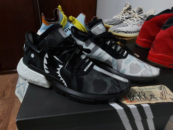 adidas Pod S3.1 X Bape X Neighborhood (ler Anuncio)