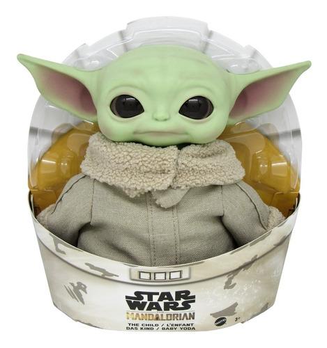 Imagem 1 de 7 de Boneco Baby Yoda The Child 28cm - Mandalorian Star Wars