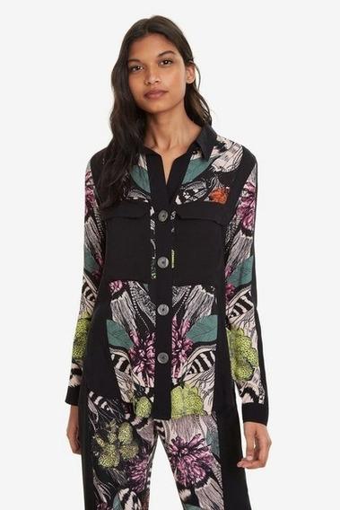 Camisa Dama Textil Multicolor Desigual