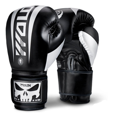 Imagen 1 de 2 de Guantes Boxeo Wolon Punisher Thai Kick