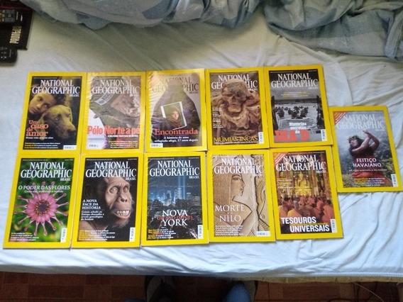 Revista National Geographic Ano 2002. Falta Fevereiro.