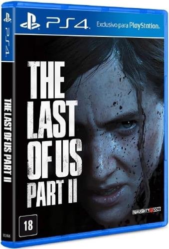 The Last Of Us 2 Ps4 Ps5 Mídia Física Novo Pronta Entrega