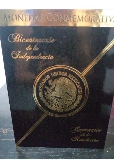 Album Monedas Conmemorativas $5 Independencia - Revolucion