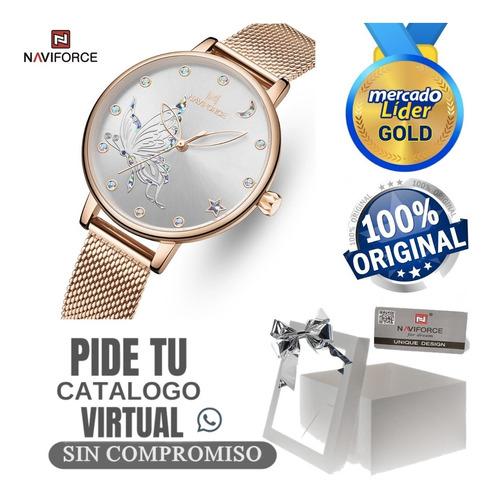 Relojes De Mujer Naviforce Originales Gama Premium + Caja