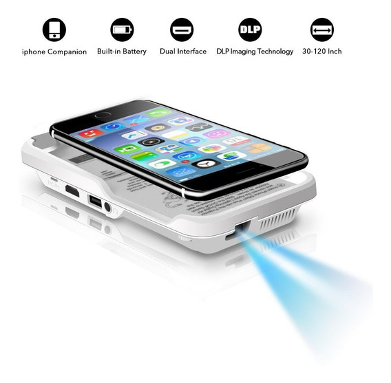 Proyector Para iPhone X/8/7/6/6s Plus Movil
