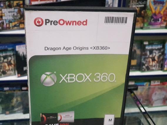 Dragon Age Origins Usado Xbox 360 Midia Fisica