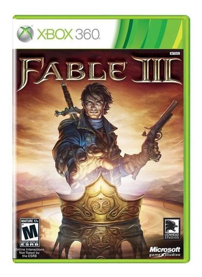 Fable 3 Xbox 360 Midia Fisica Pronta Entrega