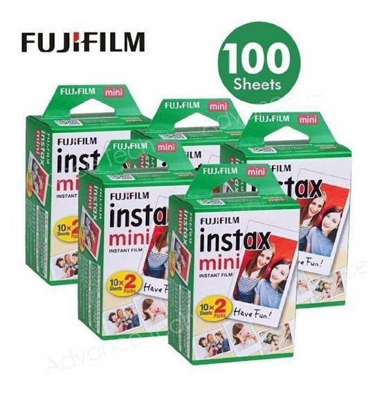 Fujifilm Instax Mini Instant Papel Film Packx20 Hojas