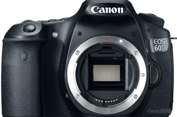 Câmera Canon 60d + 2 Baterias + Carregador