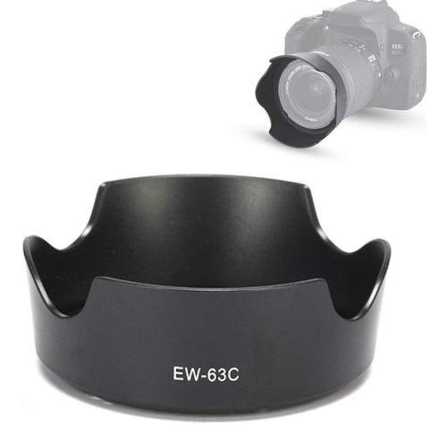 Parasol Ew-63c Para Lente Canon Ef-s 18-55mm 3.5-5.6 Is Stm