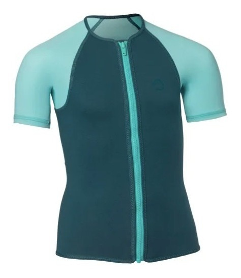 Blusa Camisa Neoprene Infantil Menina 1,5mm Mergulho Surf