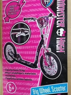 Patin Bicicleta Patinete Scooter Monster High