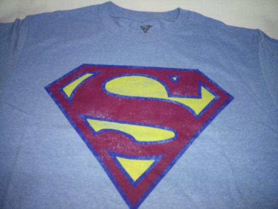 Remeras Dc Universe - Superman Logo