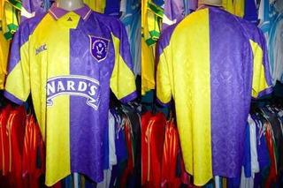 Sheffield United 1995 Camisa Reserva Tamanho M.