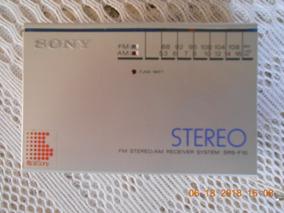 Radio Am E Fm Stereo Receiver System Sony Srs-f10