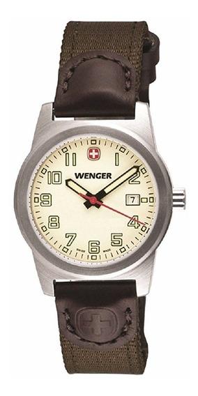 Reloj Wenger City Active Nylon Café 100m Mujer 01.0411.124