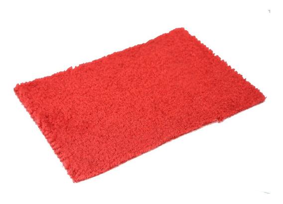 Alfombra Roja Para Recamaras 3 X 5 Mts