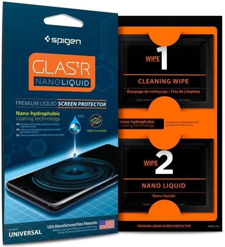 Spigen Nano Liquid Protector De Pantalla Glas Tr Universal