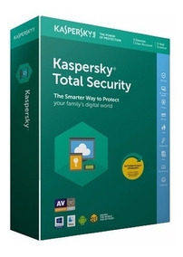 Antivirus Kaspersky Total Security 2019 1 Pc X 1 Ano.!