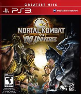 Mortal Kombat Vs Dc Universe Ps3 - Play Mexico