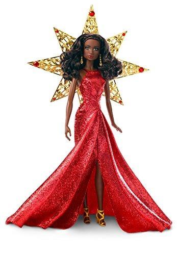 Barbie 2017 Fiesta Nikki Cabello Negro Con Vestido Rojo Muñ