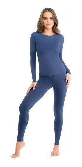 Pijama Dama Ilusion Termica Pantalon + Blusa 3545 Pv-20