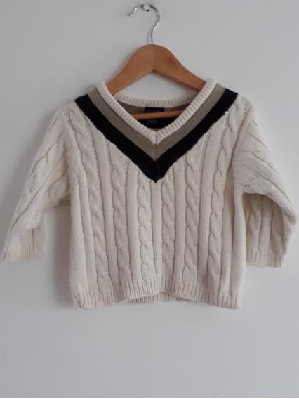 Sweater Gap Nene Bebe Talle 6 A 12 Meses Leer