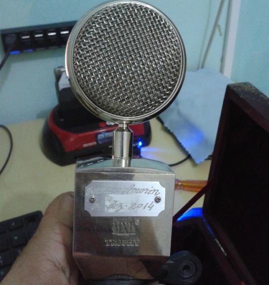 Microfone Condensador Mxl Trophy, Com Cápsula Queimada