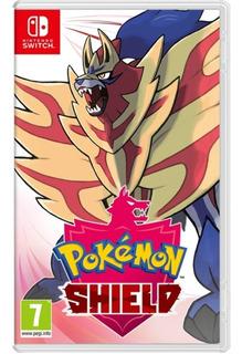 Pokemon Escudo Nintendo Switch Nuevo Y Sellado Español