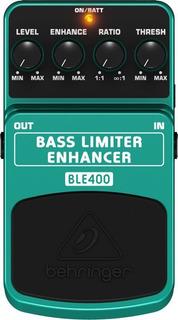 Pedal Para Contrabaixo Behringer Limiter Enhancer Ble400