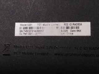 Tablet Alcatel Onetouch Modelo L221