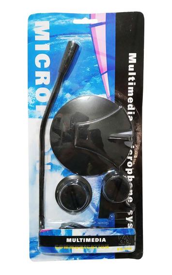 Microfone De Mesa Para Computador Hn008