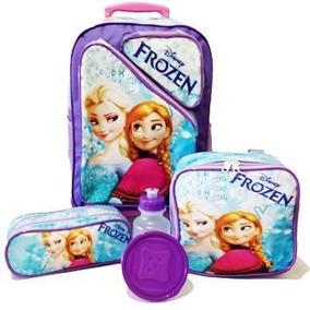 Kit Mochila Infantil Frozen Tam G Rodinhas