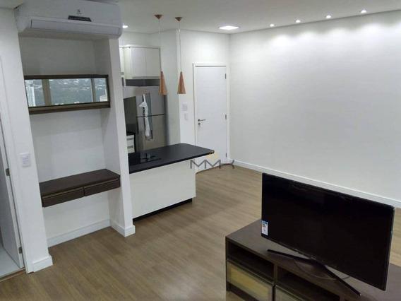 Studio Com 1 Dormitório Para Alugar, 54 M² - José Menino - Santos/sp - St0006