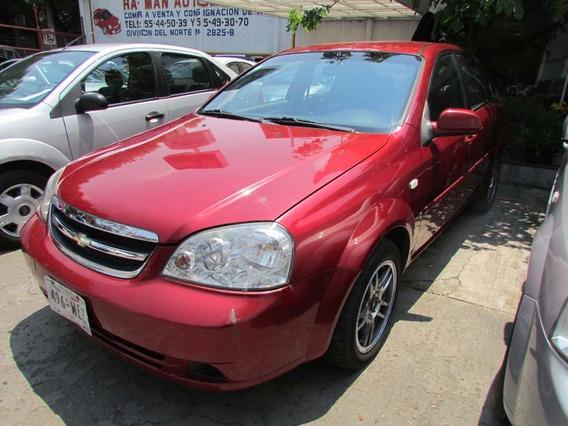 Chevrolet Optra Paq. A Automatico 2009 Rojo
