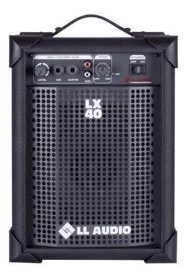 Caixa De Som Multi-uso Amplificada Ll Lx40 - 10 Watts