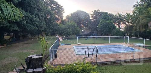 Imagem 1 de 13 de Chácara Com 3 Dormitórios À Venda, 5240 M² Por R$ 1.500.000,00 - Condomínio Chácaras Villa Verde - Birigüi/sp - Ch0025