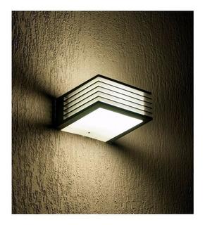 Aplique Tortuga Pared Exterior Luz Led Moderna Bidireccional